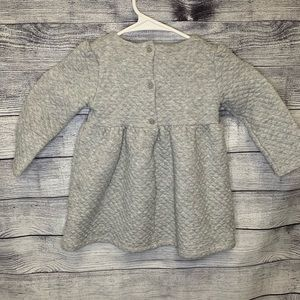 GAP Dresses - Baby GAP quilted dress with bow
